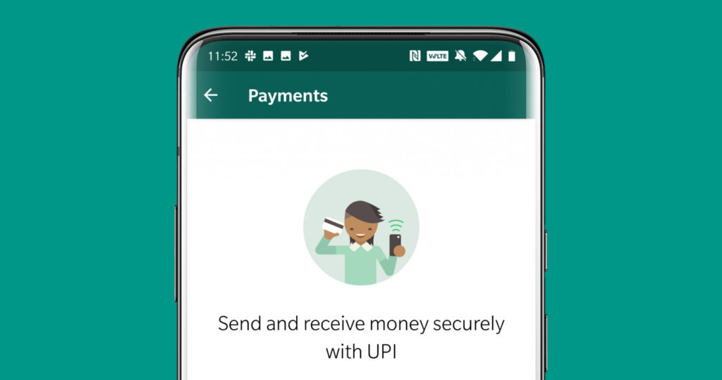 WhatsApp payments hed